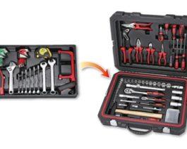 116pc 1/4″ & 1/2″ dr. Tool Kit
