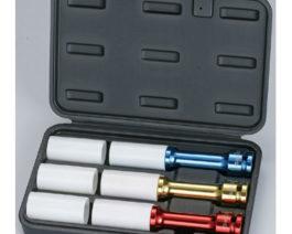 3pc Extension Thin Wall Deep Impact Socket Set