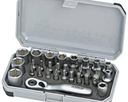 CK-1031, 31pc 1/4″dr. Socket Bit Set