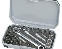 CK-1038, 38pc 1/4″dr. Socket Bit Set