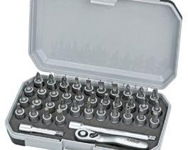 CK-1039, 39pc 1/4″dr. Bit Socket Set