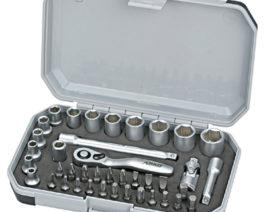 CK-1040, 40pc 1/4″dr. Socket Bit Set