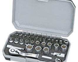 CK-1042, 42pc 1/4″dr. Socket Bit Set