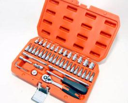 CK-2043 43pc 1/4″ dr. Socket Set