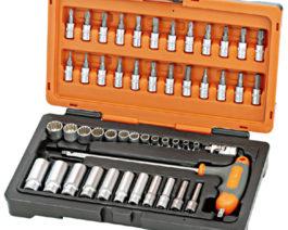 KS-2050, 50pc 1/4″dr. Multi Lock Socket Set