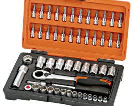 KS-3252, 52pc 3/8″dr. Multi Lock Socket Set