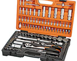 KS-42111, 111pc 1/2″ & 1/4″dr. Socket Set