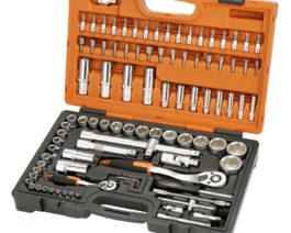 KS-4294, 94pc 1/2″ & 1/4″dr. Socket Set