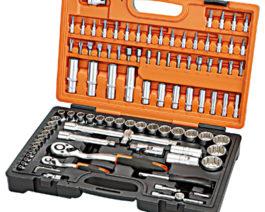 KS-4299, 99pc 1/2″ & 1/4″dr. Socket Set