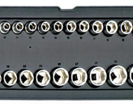 T2006, 21pc 1/2″dr. Socket Set