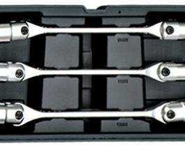 T2013, 3pc Flex. Socket Wrench Set
